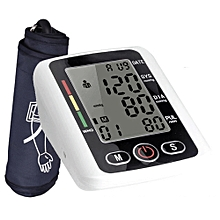 Generic Upper Arm Blood Pressure Monitor With Voice Function